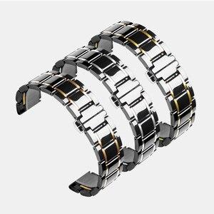 Image 5 - 20 мм 22 мм керамический ремешок для часов AMAZFIT Pace/Amazfit Stratos 2 3 /Amazfit Bip для Samsung Gear S3 Frontier керамический ремешок
