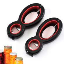 1 Pcs 6 in Multifunction Bottle Opener All One Jar Gripper Can Wine Beer Lid Claw Home Tool 2020