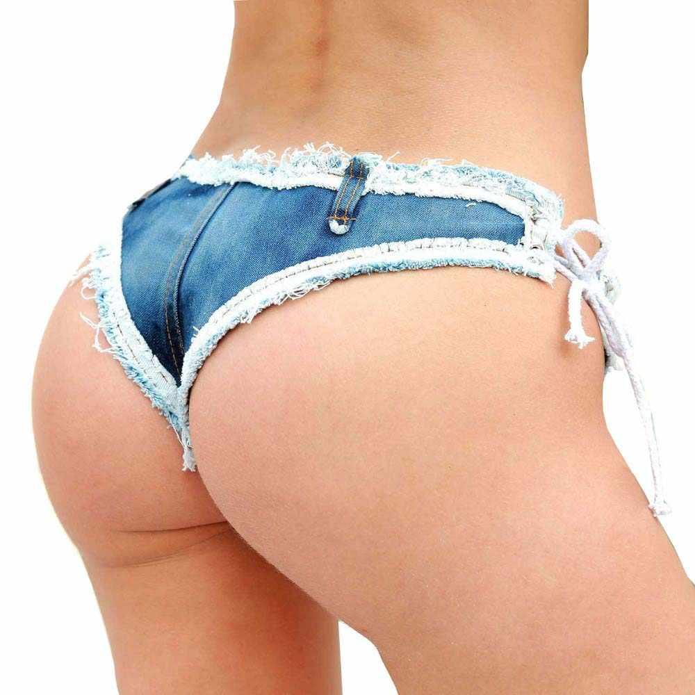 Tastien Pantalones Vaqueros Cortos Informales De Cintura Baja Para Mujer Ropa De Calle Sexy Con Borlas Para Verano 2020 Pantalones Cortos Aliexpress