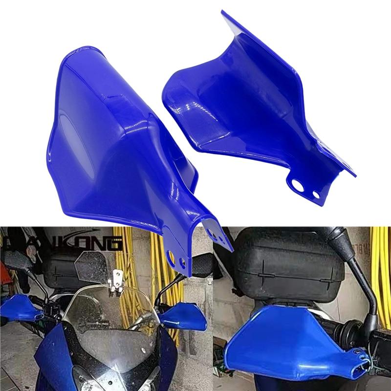 1 Pair Motorcycle Handguards Hand Guards Protectors Shield Windproof Guards For Yamaha Kawasaki Honda Suzuki Moto Dirt Bike ATVS(China)