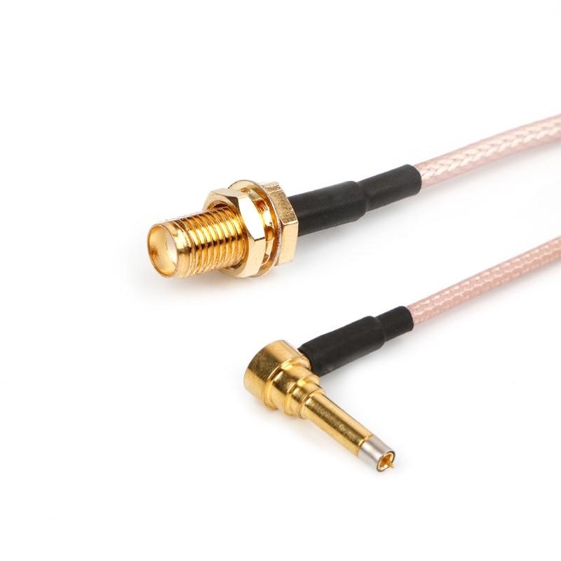 MS156 Plug Male To SMA Female Test Probe RG178 RG316 Cable Leads 35cm 40JA
