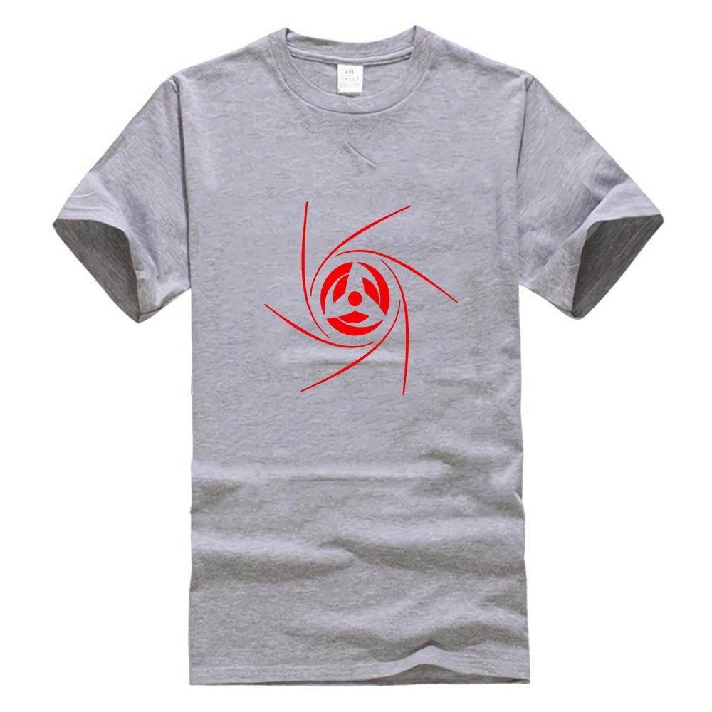 Anime top Obito Uchiha Sharingan tee Itachi Sasuke Naruto t-shirt Madara
