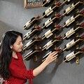 Винный шкаф креативный Железный Держатель для вина домашний красный винный шкаф полка для бутылки шампанского Рождественское украшение дл...
