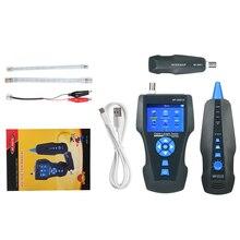 Telefon Draht Tracker Kabel Finder Linie Tester Locator Mit NCV Induktion Funktion Für RJ45 RJ11 BNC Kabel PING/POE detektor