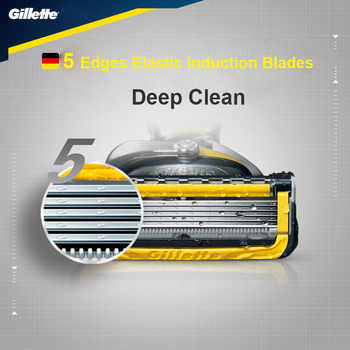 Machine for Shaving Blades Gillette Fusion Proshield Razor Blades Straight Razor Replacement Heads Men Manual Shaver Blades