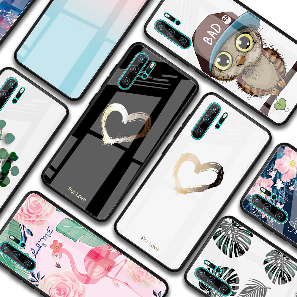 Hard Tempered Glass Protective Case For Huawei P30 P20 Mate 20 Lite Nova 3 3i Case For Huawei Honor 8X 10i 20i 20 Lite