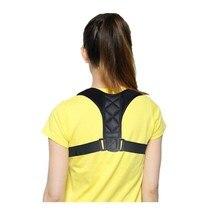 Postura correta cinto corset volta corrector clavícula suporte slouching correção de postura corretiva coluna cintas suporta