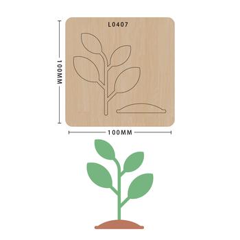 SMVAUON notatnik Die Cut Cute Bee DIY handmade nowe matryce do 2020 drewniany szablon do wycinania formy do wykrawania drewna Die tanie i dobre opinie TREE Laser mold
