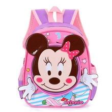 Waterproof Cartoon mickey backpacks/ kids baby bags backpacks for children/kid