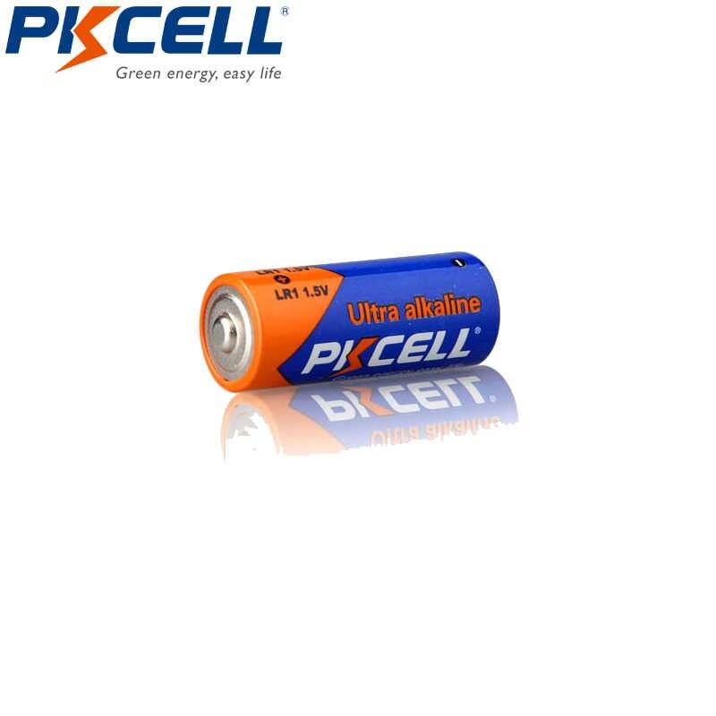 4 個/2 カード pkcell 新 E90 n LR1 MN9100 910A 1.5 v AM5 サイズ n アルカリ電池ワイヤレスマイクドアベル
