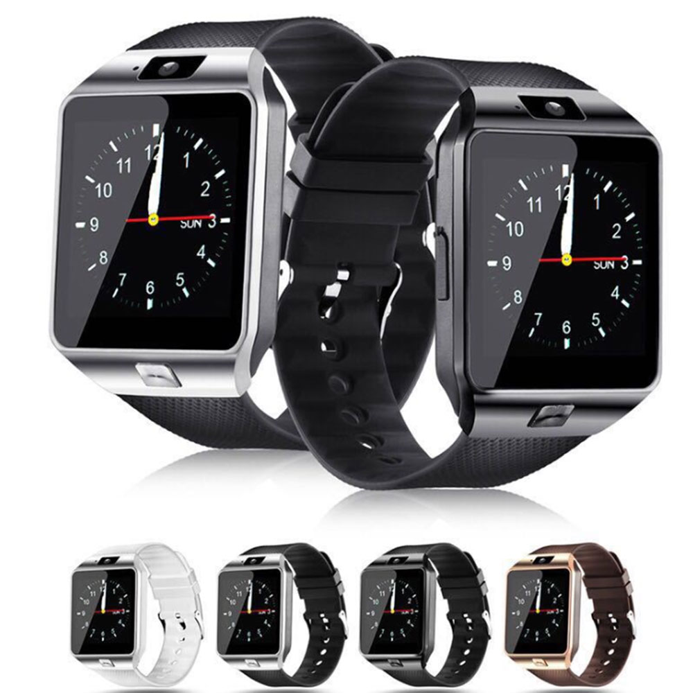 DZ09 Smart Watch Dial/Answer GSM SIM/TF Card Camera Fitness Tracker Bluetooth Sport Bracelet For IPhone Android PK GT08 A1 Q18