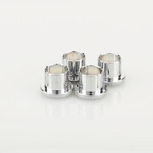 Image 3 - Hi End Brass Noise Stopper Rhodium Plated Copper RCA Plug Caps