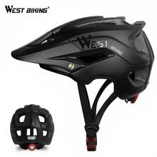 WEST BIKING велосипедный шлем Trail XC MTB вездеход велосипедный шлем внедорожный Casco Ciclismo Bicicleta горный велосипед велосипедный шлем