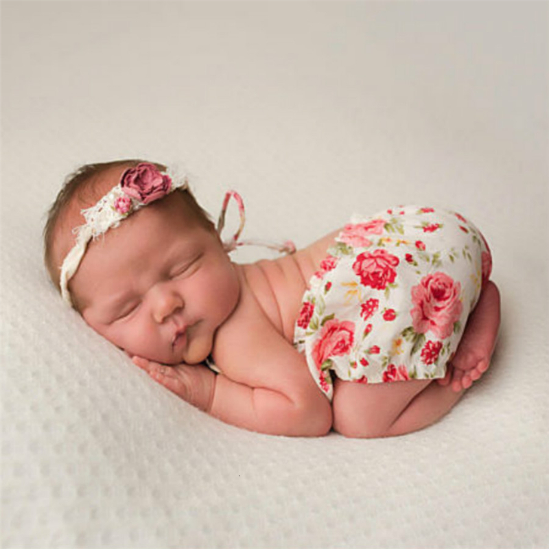 Baby Girls Newborn Photography Props Crochet Baby Costumes Bowknot Infant Outfit Fotografia Accessories Infant Clothes