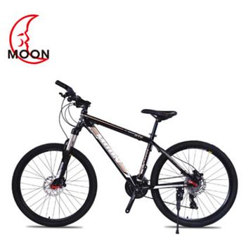 Księżyc rowerów górskich 26 Cal stali nierdzewnej 24 prędkości stopu aluminium zmiennej prędkości rower zawieszenie podwójne hamulca rower BMX tanie i dobre opinie mm10