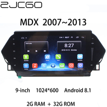 цена на Car Multimedia Player Stereo GPS DVD Radio Navigation Android Screen for Acura MDX 2 MK2 2007 2008 2009 2010 2011 2012 2013