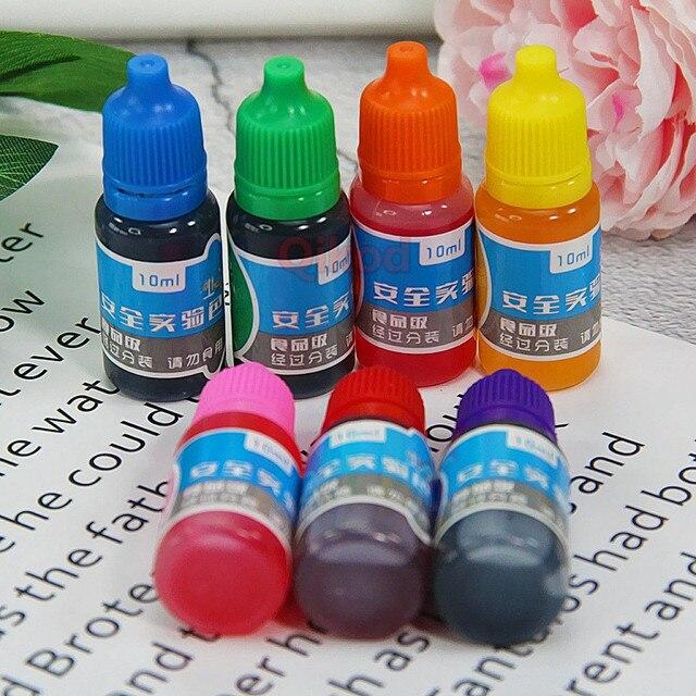 Bricolage Pigment Addition pour Slime fournitures clair liquide fabrication polymère argile accessoires moelleux Slime breloques Art cristal boue jouet Kit