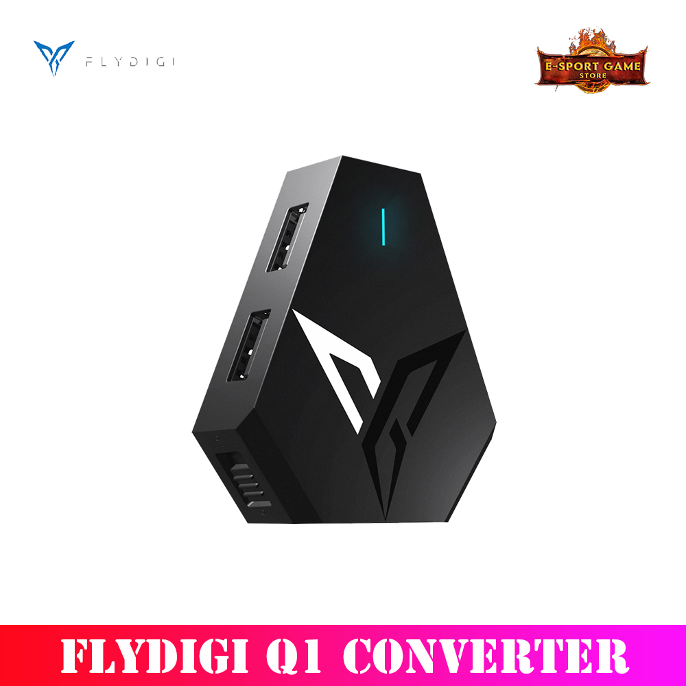 Flydigi Q1 <font><b>keyboard</b></font> and mouse <font><b>converter</b></font> PUBG automatic pressure gun Android iOS High-speed Mapping <font><b>Bluetooth</b></font> 4.0 Connection image
