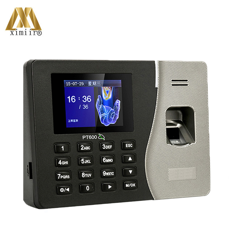 ZK PT600 Linux System Biometric Fingerprint Time Attendance Time Clock Time Recording TCP/IP Biometric Fingerprint Reader