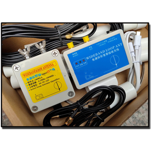 Image 5 - K 180WLA aktif küçük döngü kısa dalga anten genişbant alıcı anten 0.1MHz 180MHz SDR radyo anteni