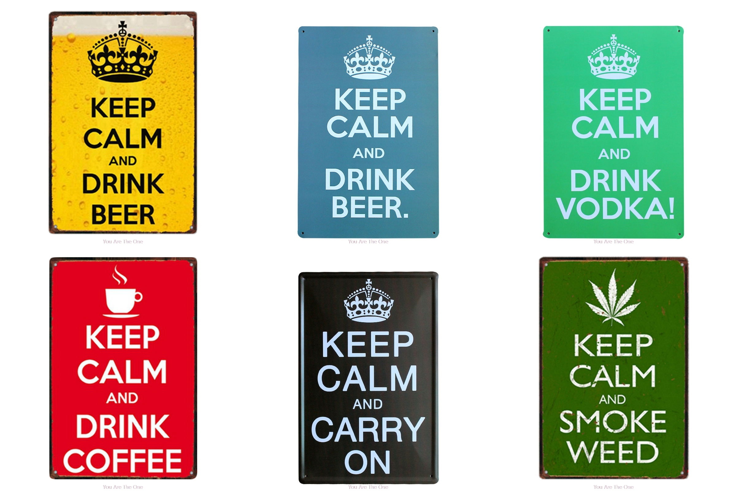 Garder le calme et faire quelque chose métal étain signes boisson bière Vodka Vintage maison Plaque métal peinture mur décor conseil rétro Pub