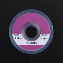 1/2/5 шт 2 мм x 1 м припоя оплетка паяльный припой для снятия