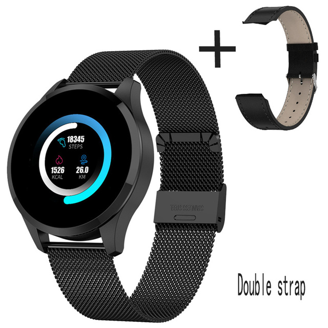 Q9 Smart Watch Waterproof GPS Distance Track Bluetooth Smartwatch men Heart Rate monitor Fitness Tracker Q8 Bracelet Android IOS  