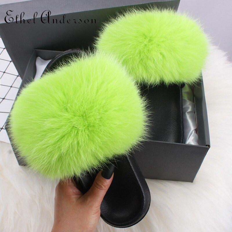 Grass Green Fox Fur