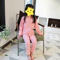 Kids Pajamas Suit Children Sleepwear Baby Pajamas Sets Girls Cotton Cute Long Sleeve Nightwear Clothes Kids Clothing