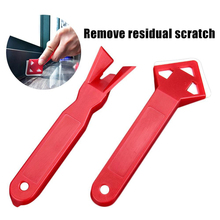 2Pcs Mini Household Cleaning Tools Remove Residual Glue Scraper Glass Shovel Practical Floor Cleaner Tile Cleaner Surface Glue