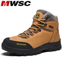 MWSC Warm Fur Lining Ankle Snow Boots For Men Male Outdoor Waterproof Snow Boots Shoes Men Non-slip Snow Shoes Men Casual Boots women winter walking boots ladies snow boots waterproof anti skid skiing shoes women snow shoes outdoor trekking boots for 40c