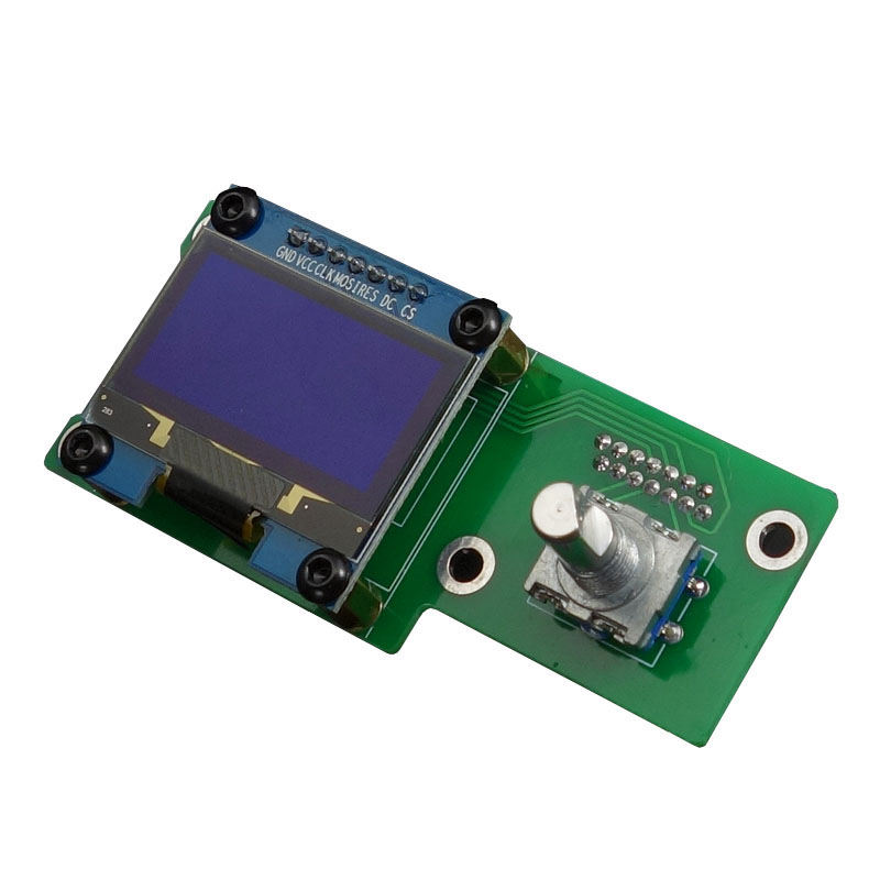 BEST1.3Inch Oled Display Control Panel For Es9038 Q2M I2S Dsd Fiber Coaxial Input Decoder Board|Display Screen| |  -
