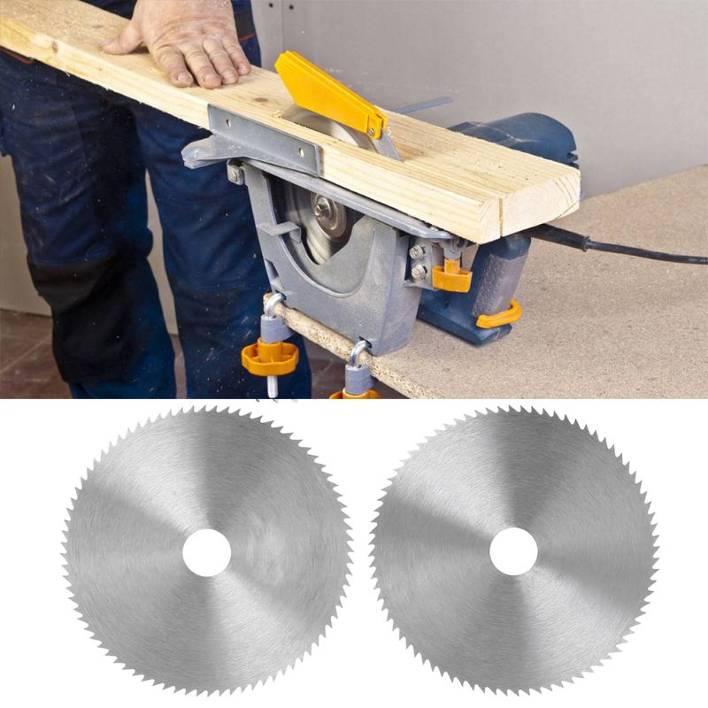 4 Inch Ultra Thin Steel Circular Saw Blade 100mm Bore Diameter 16/20mm Wheel Cutting Disc For Woodworking Rotary Tool E65B