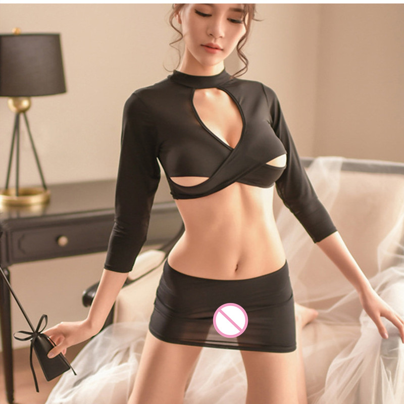 Porno Pleated Skirt Cosplay Mini Girl Sexy Lingerie Uniforms Sexy Costumes Women Sex Products Sexy Underwear Role Play Erotic