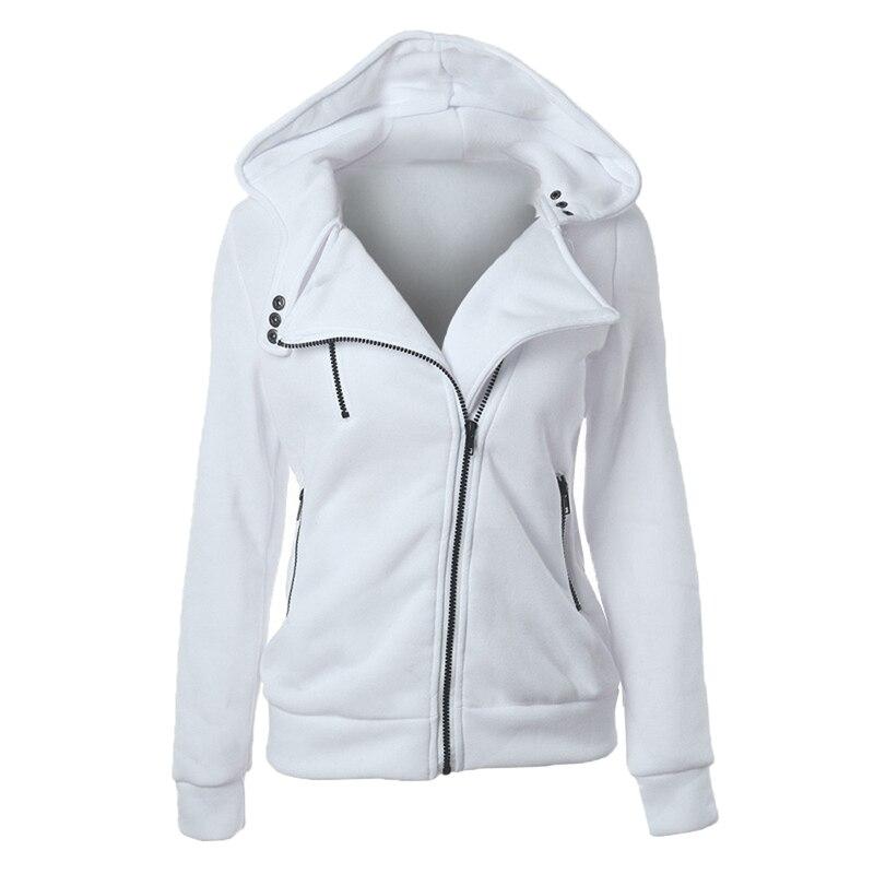 CALOFE 2020 Autumn Winter Women Jacket Coat Casual Girl Basic Jackets Zipper Cardigan Long Sleeve Jacket Female Coats Plus Size