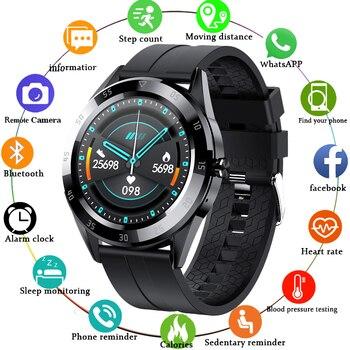 LIGE Bluetooth phone Smart watch men waterproof sports fitness health tracker weather display 2020 new smartwatch woman - discount item  80% OFF Smart Electronics