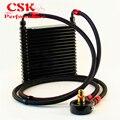 Универсальный 32 мм масляный радиатор 17 Ряд AN8 фильтр адаптер шланг комплект трек/гоночный автомобиль