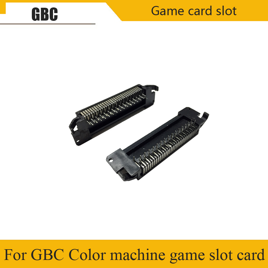 Original used <font><b>game</b></font> machine motherboard card slot for Nintend GBC <font><b>GameBoy</b></font> motherboard accessories <font><b>Color</b></font> machine <font><b>game</b></font> card seat image