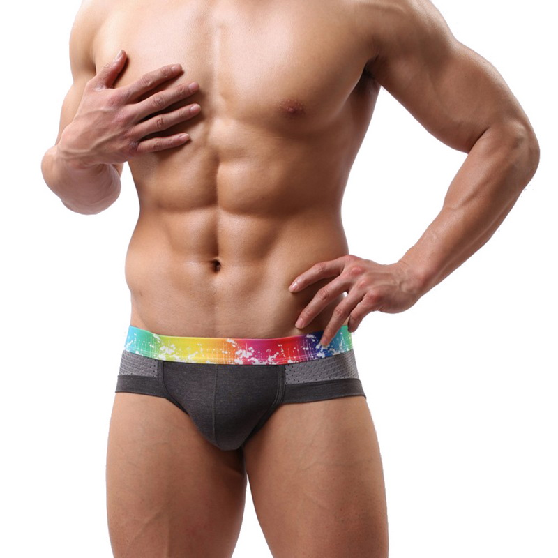 Mens Briefs Underwear Shorts Cueca Panties Men Briefs Underwear Men's Sexy Breathable Underpants Modal Comfortable