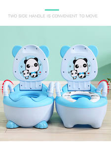 Baby Potty Seat WC Plastic Infant Girls Soft Boys Children's Cute And Road-Pot 0-6-Years-Old