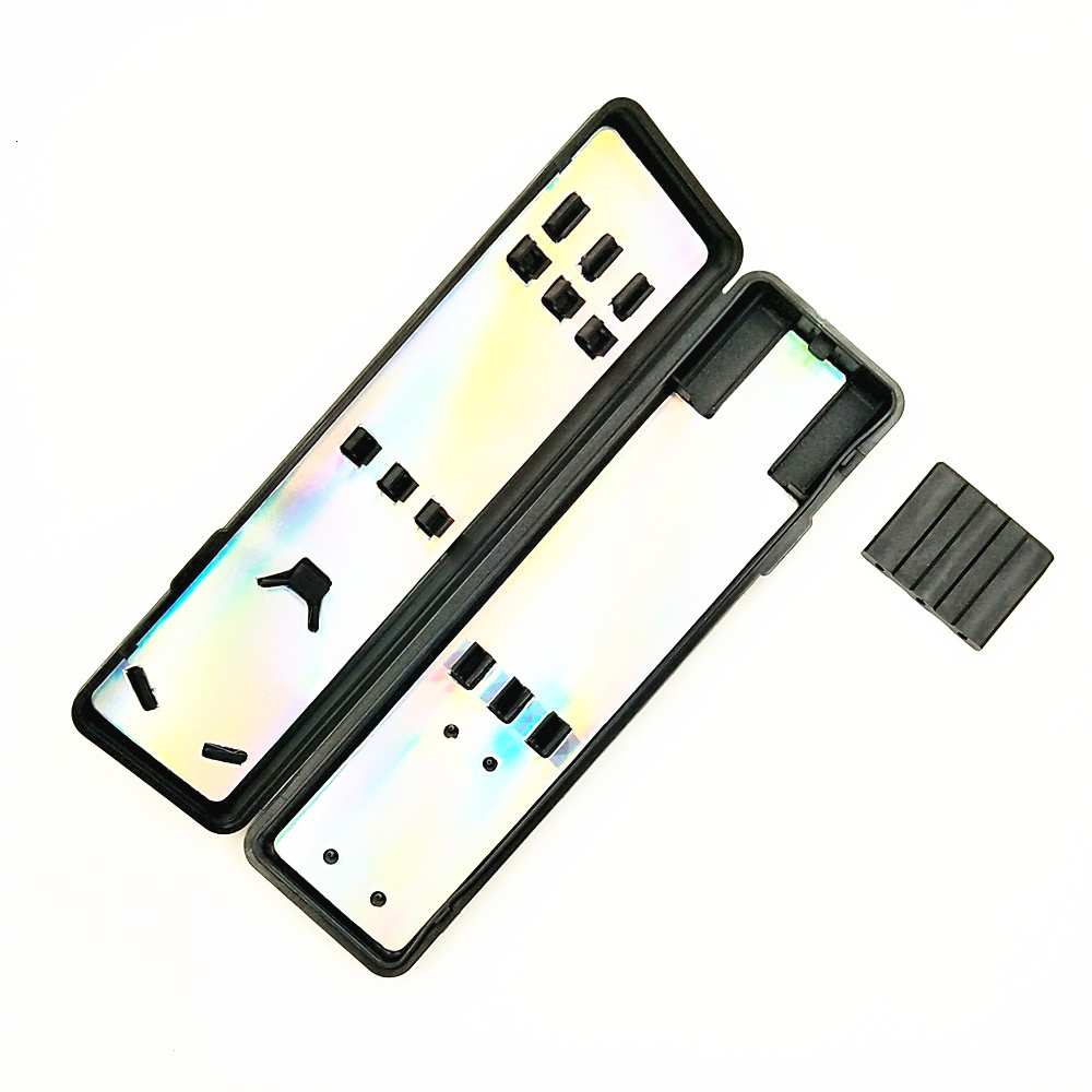 1pcs Black Dart Case Bag Box Plastic Dart Box Plastic Dart Portable Storage Box Darts Accessories