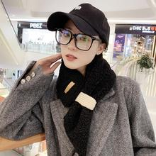 women winter Scarf blend Solid Color long womens scarves shawl fashion men scarf