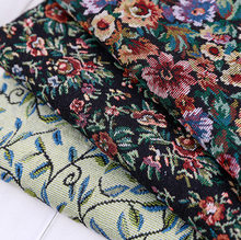 50cm Meetee 50/100/150cm genişliğinde Polyester/pamuk etnik İplik boyalı jakarlı kumaş giyim ev tekstili çanta ve kum çıkış