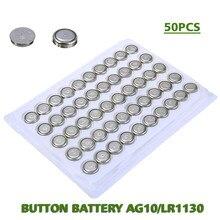 Nova chegada 1.5v botão moeda pilha bateria lr54 lr1130 sr1130w 189 389 389a relógios baterias para relógios calculadoras computadores