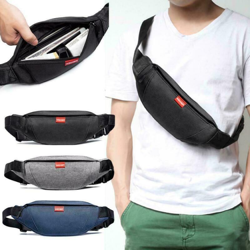 Nylon Waist Bag Women Belt Bag Men Fanny Pack Fashion Colorful Bum Bag Travel Purse Phone Pouch Pocket Multi-function Chest Pack