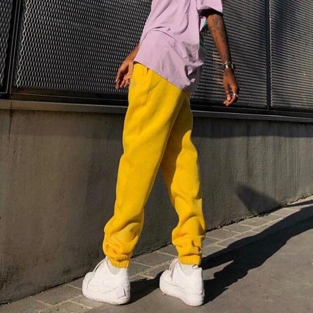 Rockmore Harajuku Joggers Wide Leg SweatPants Women Trousers Plus Size High Waist Pants Streetwear Korean Casual Pant Femme Fall 5