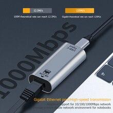 Network-Card Ethernet-Adapter Type-C USB RJ45 To Wired LAN 10/100/1000-gigabit