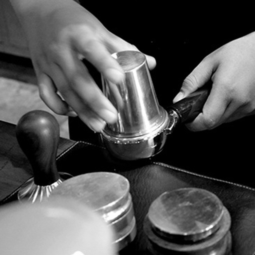 Stainless Steel Coffee Powder Precision Dosing Cup For EK43 Grinder Coffee Tea Accessories Durable And Compact Coffee Dosing Cup