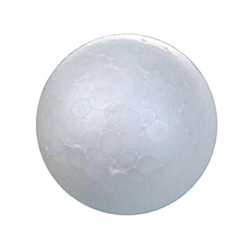 20 X White Christmas Decorative Ball Christmas Modeling Craft Styrofoam Ball 7 Cm