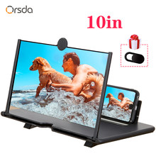 Orsda 10-inch HD 3D Mobile Phone Screen Amplifier Universal Video For Iphone Samsung Huawei Millet Phone Stand Screen